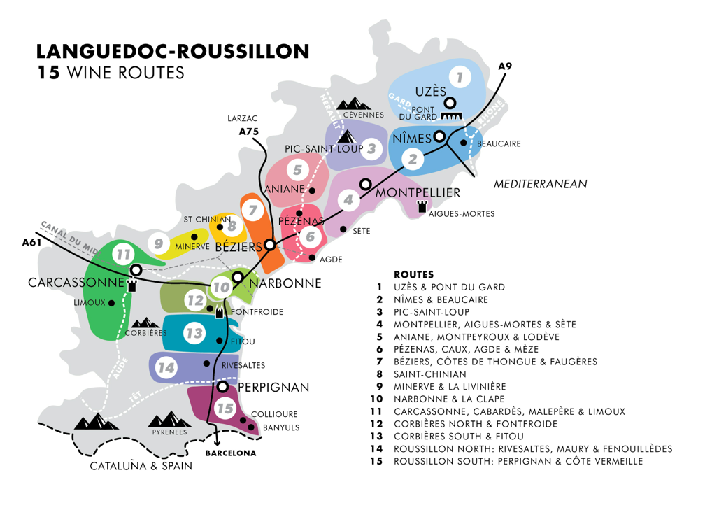 The Wines Winemakers of LanguedocRoussillon