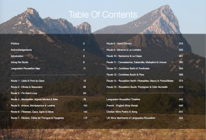 Table of Contents in the PDF Version